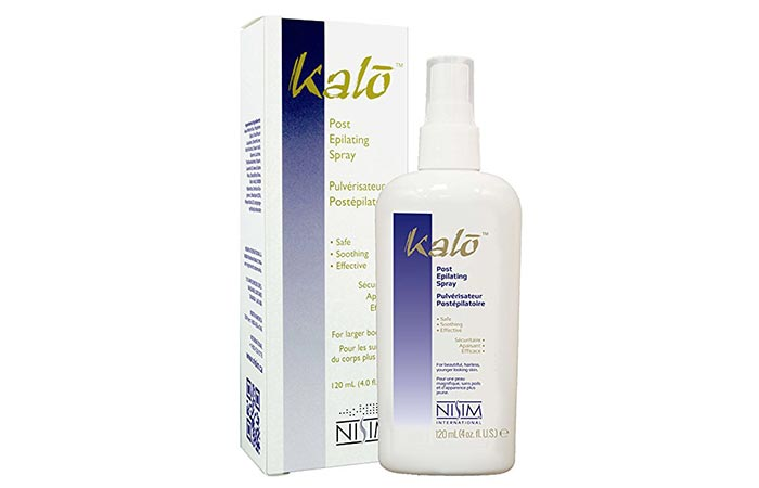 Best Hair Remover Sprays - Kalo Post Epilating Spray