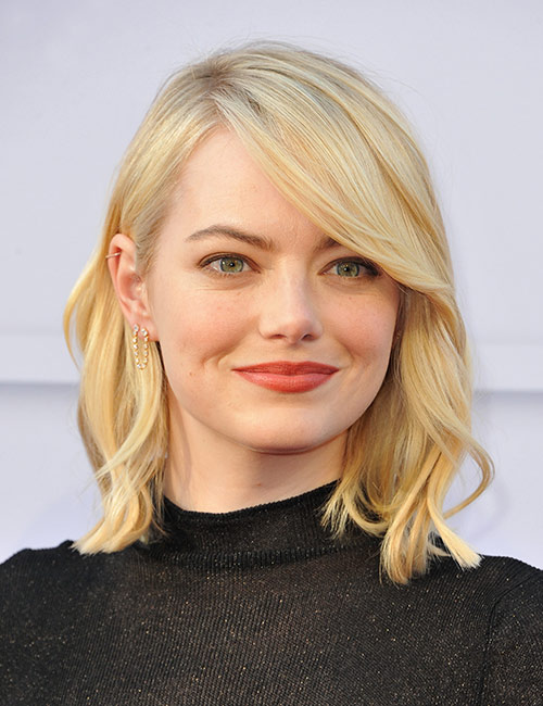 A-Line Bob With Perfect Side-Swept Bangs