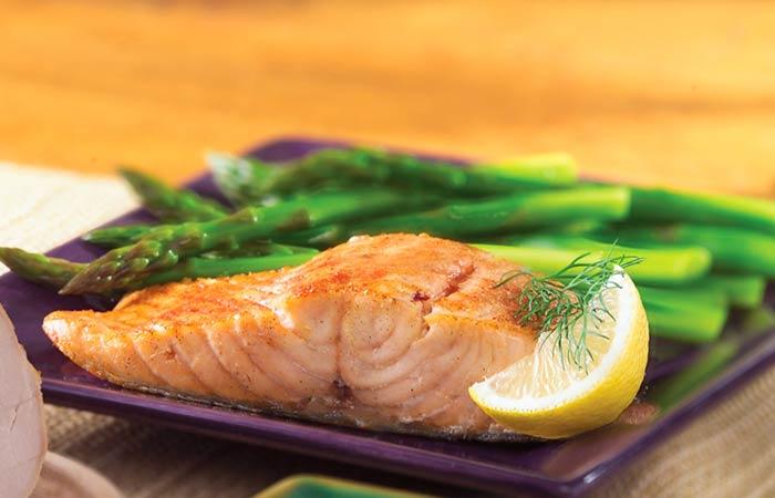 Asparagus-And-Baked-Fish