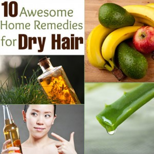 10 Awesome Home Remedies for Dry Hair