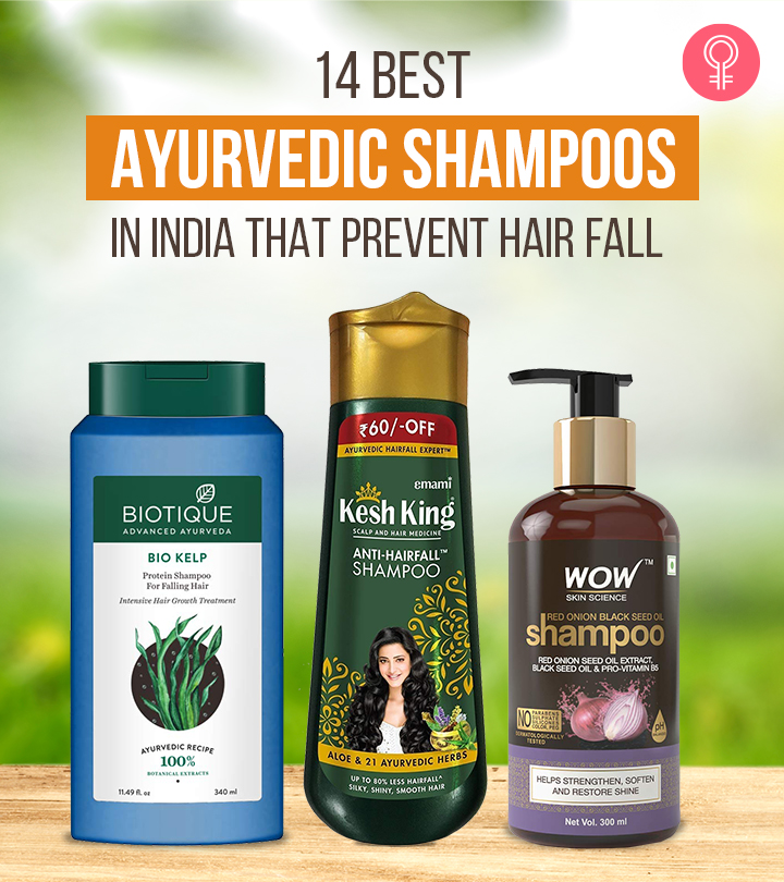 14 Best Ayurvedic Shampoos In India That Prevent Hair Fall