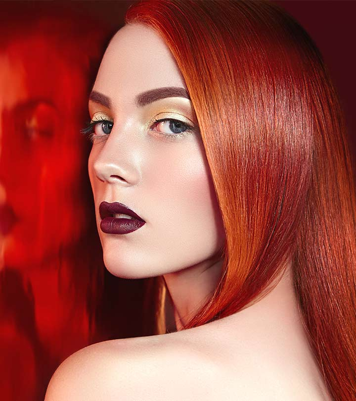 How To Autumn Orange Ginger Hair Dye Tutorial
