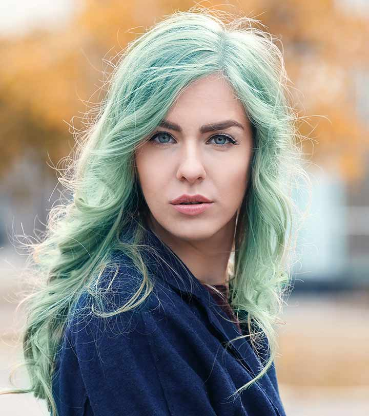 Pastel Green Hair Color Www Pixshark Com Images