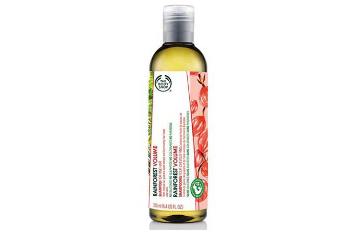 Hair Thickening Shampoos - The Body Shop Rainforest Volume Shampoo