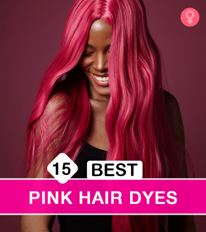 Best Pink Hair Dyes To Use At Home