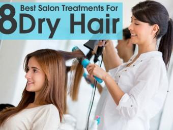 best salon treatments for dry hair