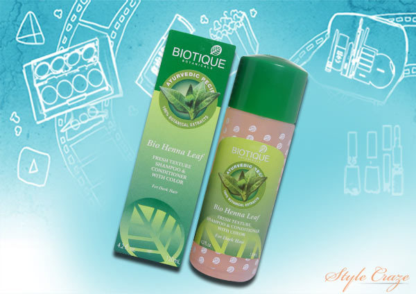 Biotique Bio Henna Leaf Shampoo And Conditioner