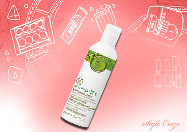 Body Shop Nutriganics Refreshing Toner