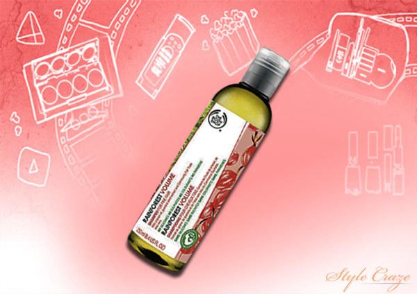 bodyshop rainforest volume shampoo