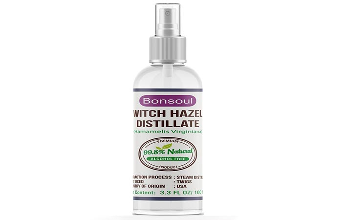 Bonsoul Witch Hazel Distillate, Astringent, and Toner