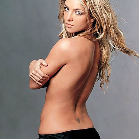 Britney Spears Fairy Tattoo