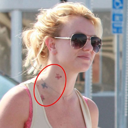 Britney Star Tattoo