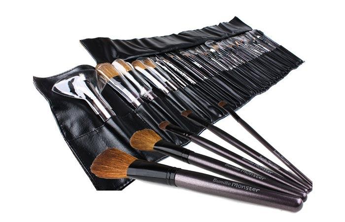 Best Professional Makeup Brushes - 2. Bundle Monster Makeup Set