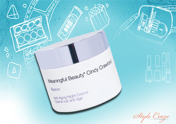 cindy crawford meaningful beauty anti aging night cream