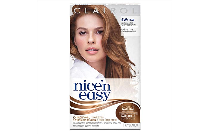 Clairol Nice 'n Easy – Natural Light Caramel Brown