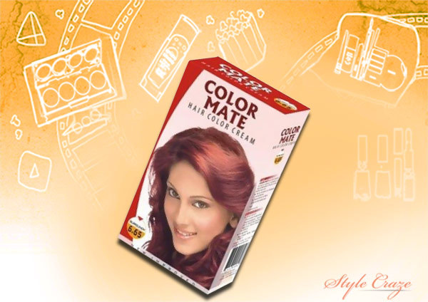 Color Mate Hair Color Burgundy