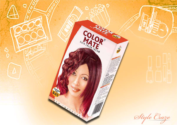 Color Mate Hair Color Cream - '8.65 Copper