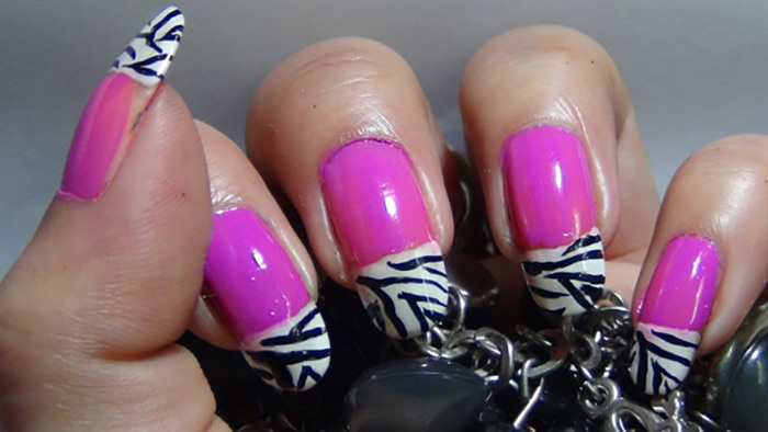 Colorful Zebra French