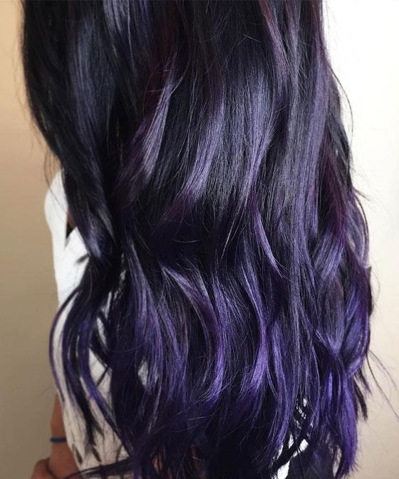 10 plum hair color ideas for women cool toned deep plum pmusecretfo Choice Image