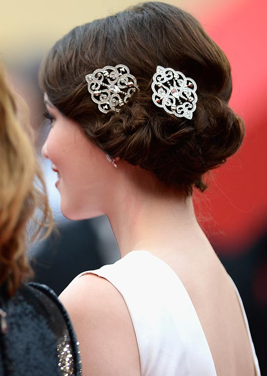 Curled-and-Textured-Low-Side-Hairdo