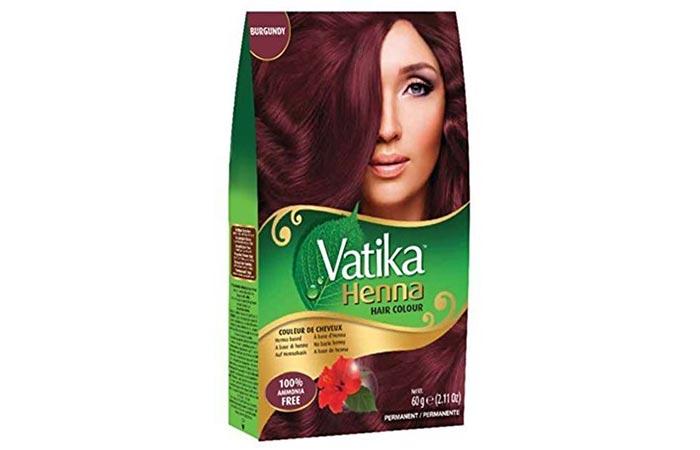 Dabur Vatika Henna Hair Colour