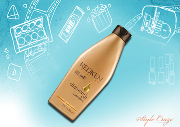 diamond oil conditioner for damaged hair