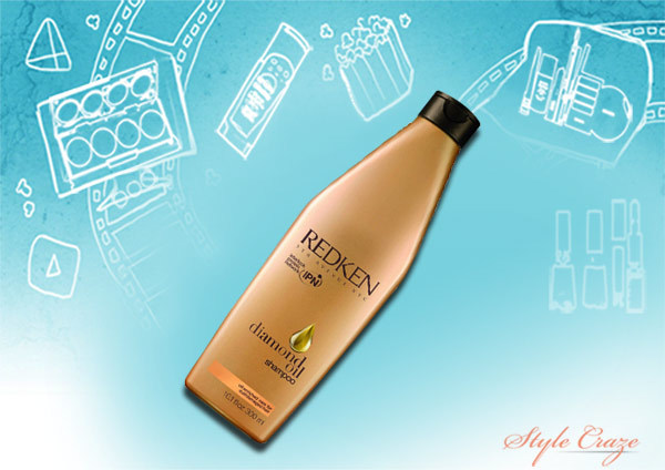 diamond oil shampoo for damaged hair