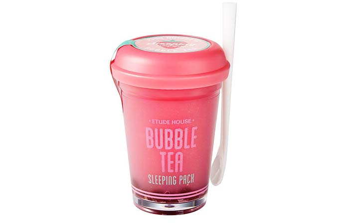 Etude House Cosmetic Products Bubble Tea Sleeping Pack – Strawberry