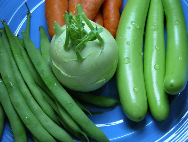 fibrous vegetables