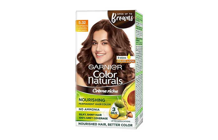 Garnier Color Naturals – Caramel Brown