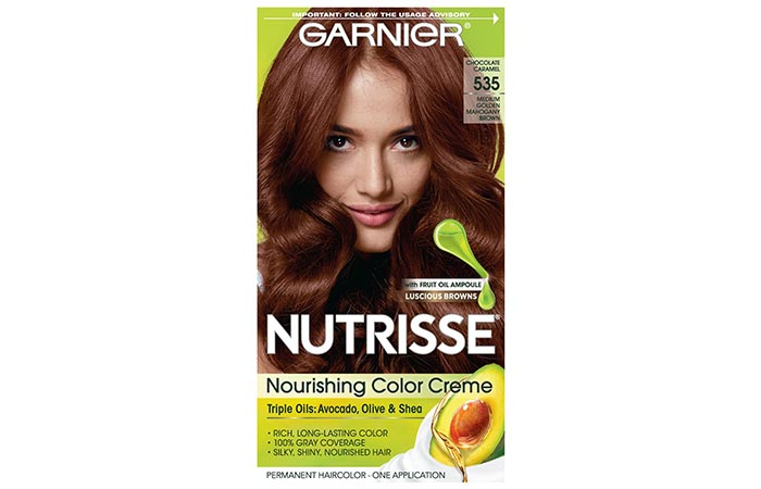 Garnier Nutrisse Nourishing Color Creme – Chocolate Caramel 535