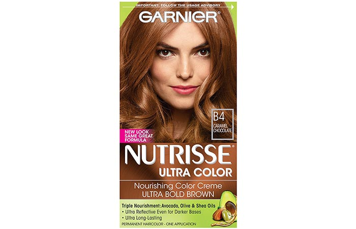 Garnier Nutrisse Ultra Color Nourishing Color Creme – B4 Caramel Chocolate
