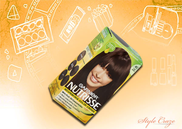 Ammonia Free Hair Colors - Garnier Nutrisse Hair Color