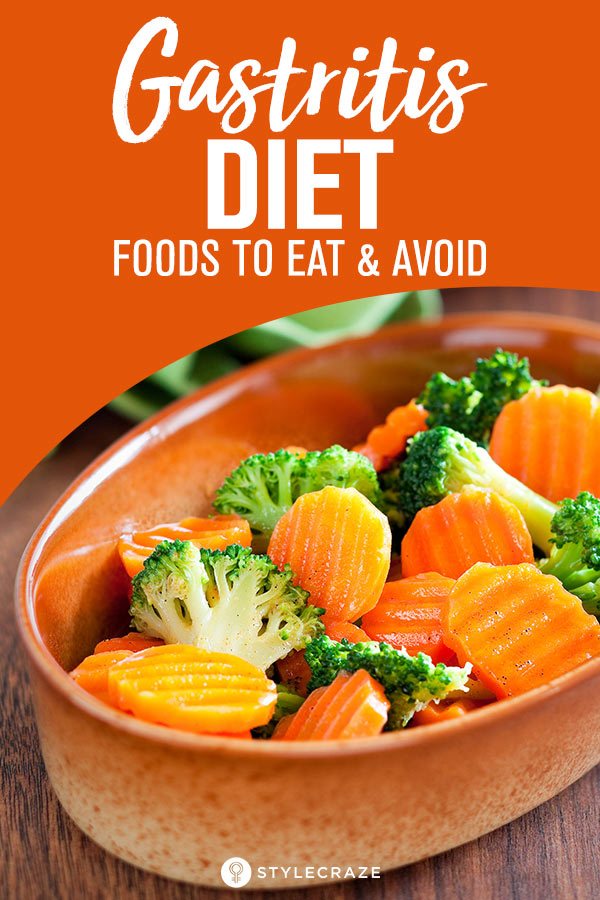 Best Gastritis Diet – Foods To Eat And Avoid