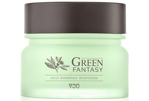 VJU Green Fantasy увлажняющий крем для лица дневной и ночной крем-корейская продукция по уходу за кожей