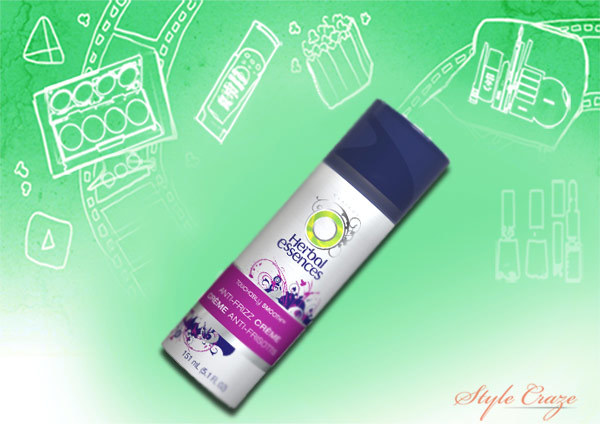 herbal essences touchably smooth anti frizz creme pink lily