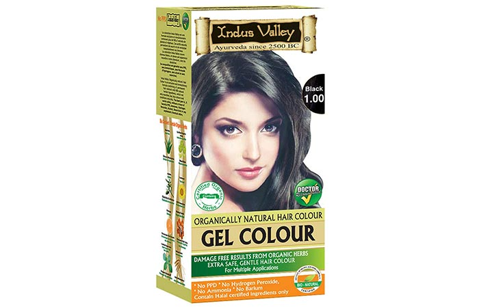 Indus Valley Organically Natural Gel Hair Color