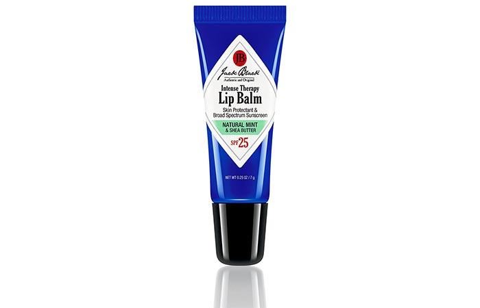 Best Lip Balms - Jack Black Intense Therapy Lip Balm SPF 25