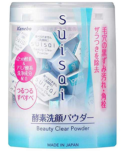 Kanebo Suisai Beauty Clear Powder - japanese Skin Care Products
