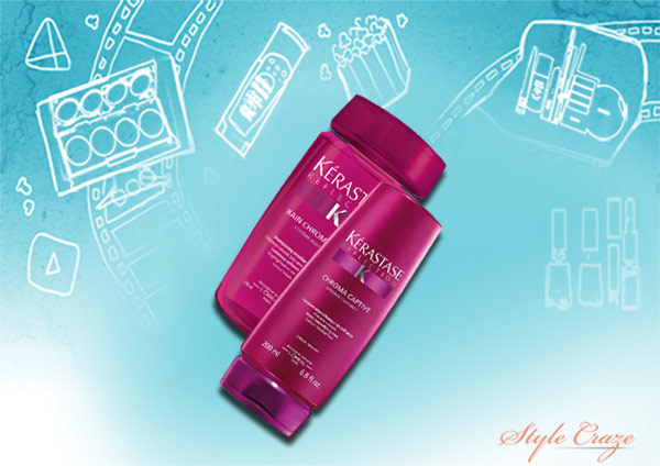 kareena kapoor's keratase reflection bain chroma riche shampoo 250 ml and fondant chroma captive 200 ml