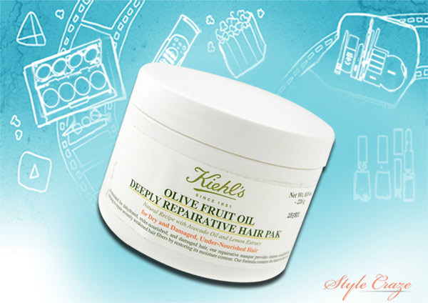 katrina kaif's kiehl's olive fruit oil deeply repairative hair pack-8.4 Oz