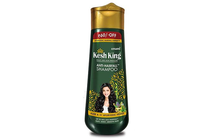 Kesh King Anti Hair Fall Shampoo with Aloe and 21 Herbs