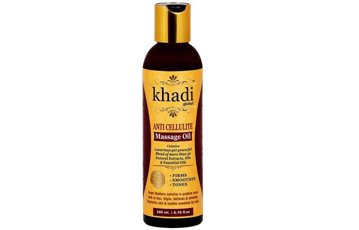 Khadi Global Anti Cellulite Massage Oil