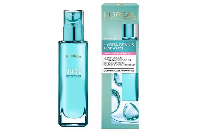 Hyaluronic Acid For Skin Care - L'Oreal Paris Hydra Genius Face Moisturizer