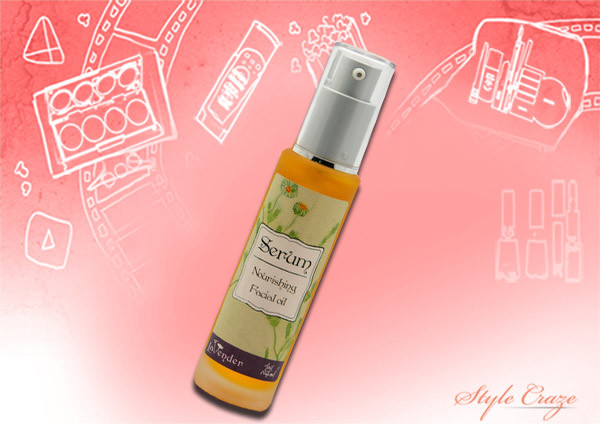 lavender cosmetic facial serum oil