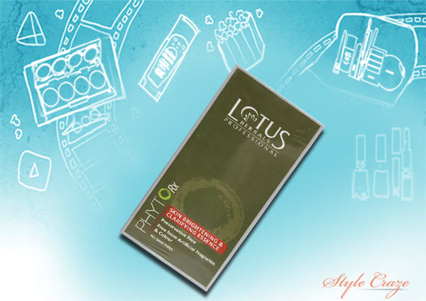 lotus herbals professional skin brightening and clarifying essence