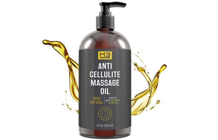 M3 Naturals Anti Cellulite Massage Oil