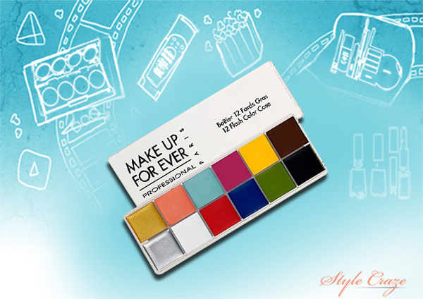 MAKE UP FOR EVER 12 Flash Colour Case