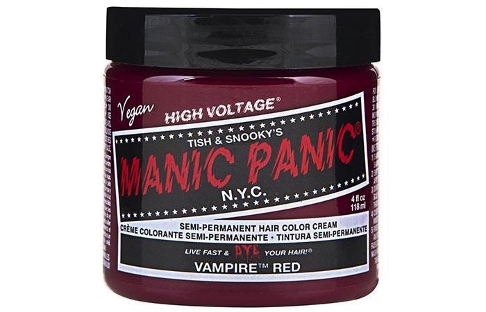 Manic Panic Semi-Permanent Hair Color Cream – Vampire Red