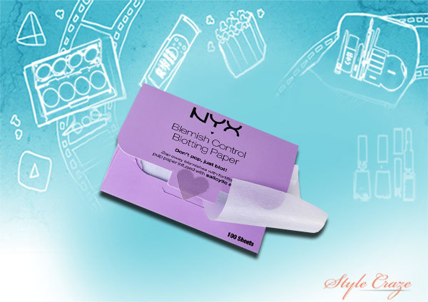 NYX Blemish and Oil Control Blotting Paper